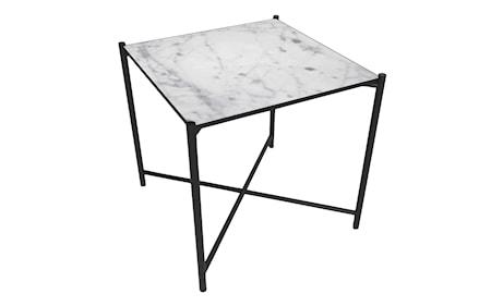 Handvärk sidobord marmor