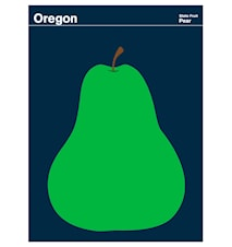 Oregon Pear poster