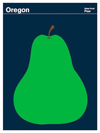 Bild av Print Collection Oregon Pear poster