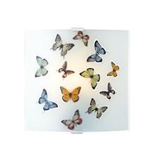 Butterfly Vägglampa Mönstrad