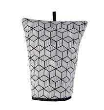 Huva för kaffe Polyester/Bomull Svart/Vit 30x24 cm