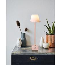 Gil bordslampa LED - Koppar, vit