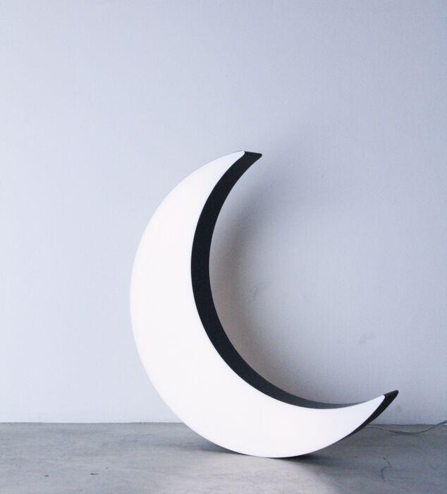 Half moon, LED-belysning
