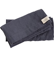 Tøyserviett 40x40 grå, 2-pakk