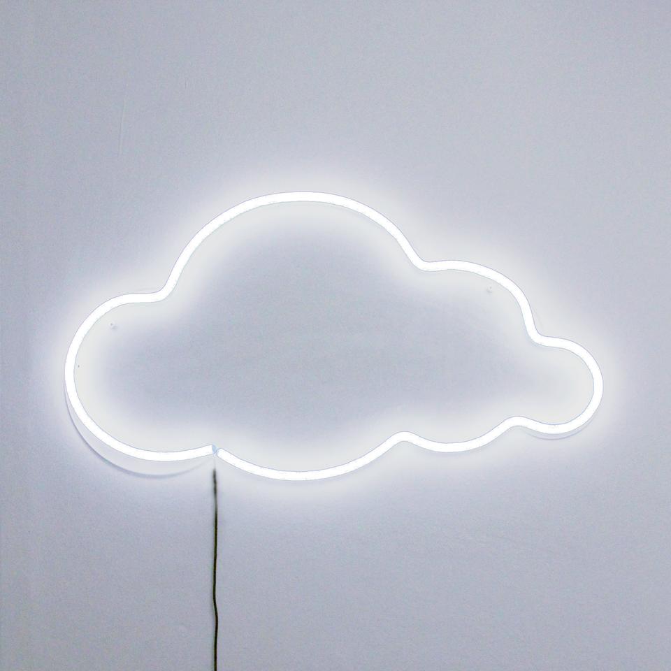White cloud - LED Neon