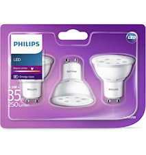 3-p LED GU10 35W (3,5W)