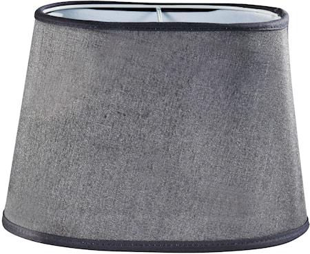 PR Home Omera Lampskärm Silke Ljusgrå 23,5 c