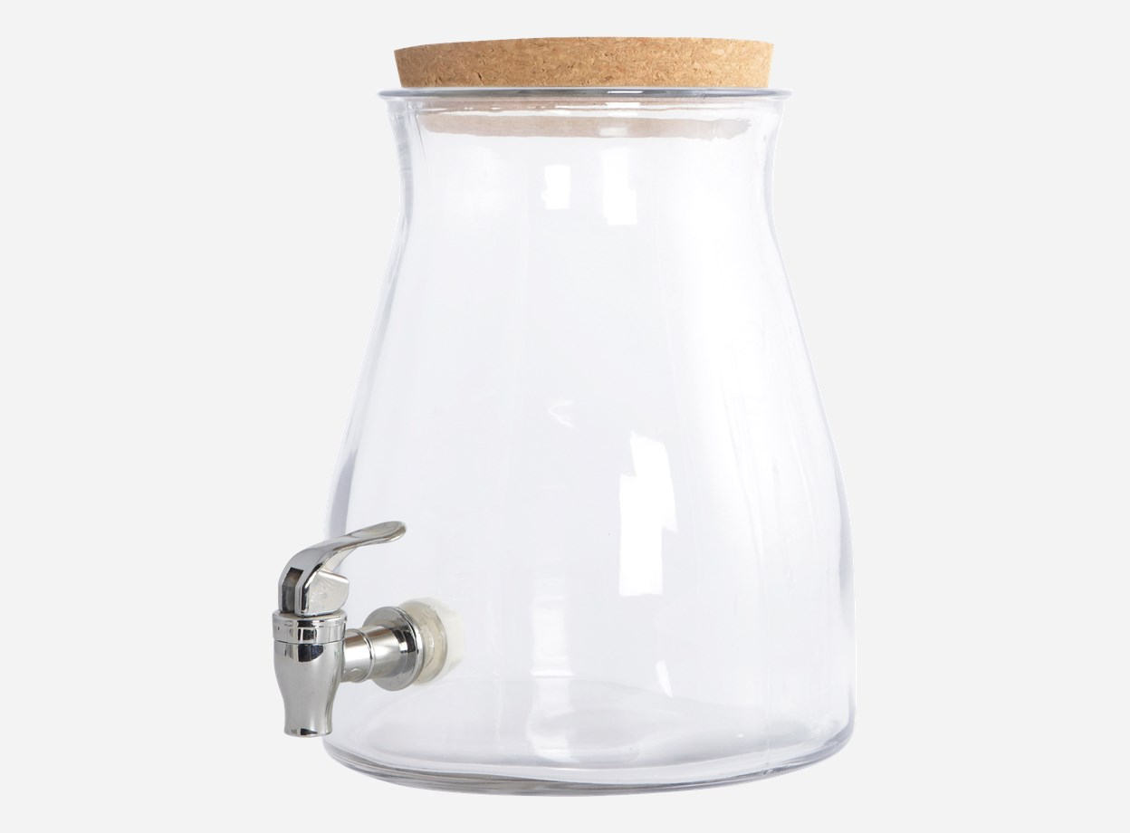 Safttillbringare med kran Ø 20 H 27 cm