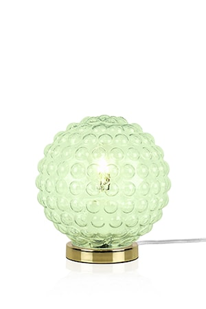 Bild av Globen Lighting Bordslampa Spring Ljusgrön / Mässing