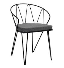 Classic stol med sittdyna