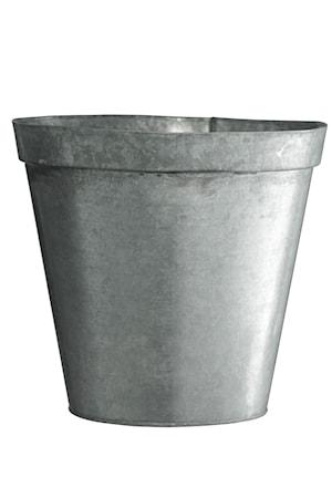 Madam Stoltz Kukkaruukku Ø 20,5 cm – Sinkki
