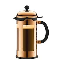 Chambord Kaffepress 8 koppar 1 liter Koppar