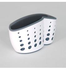 Sink Sider™ Svamp och diskborstehållare med sugproppsfäste