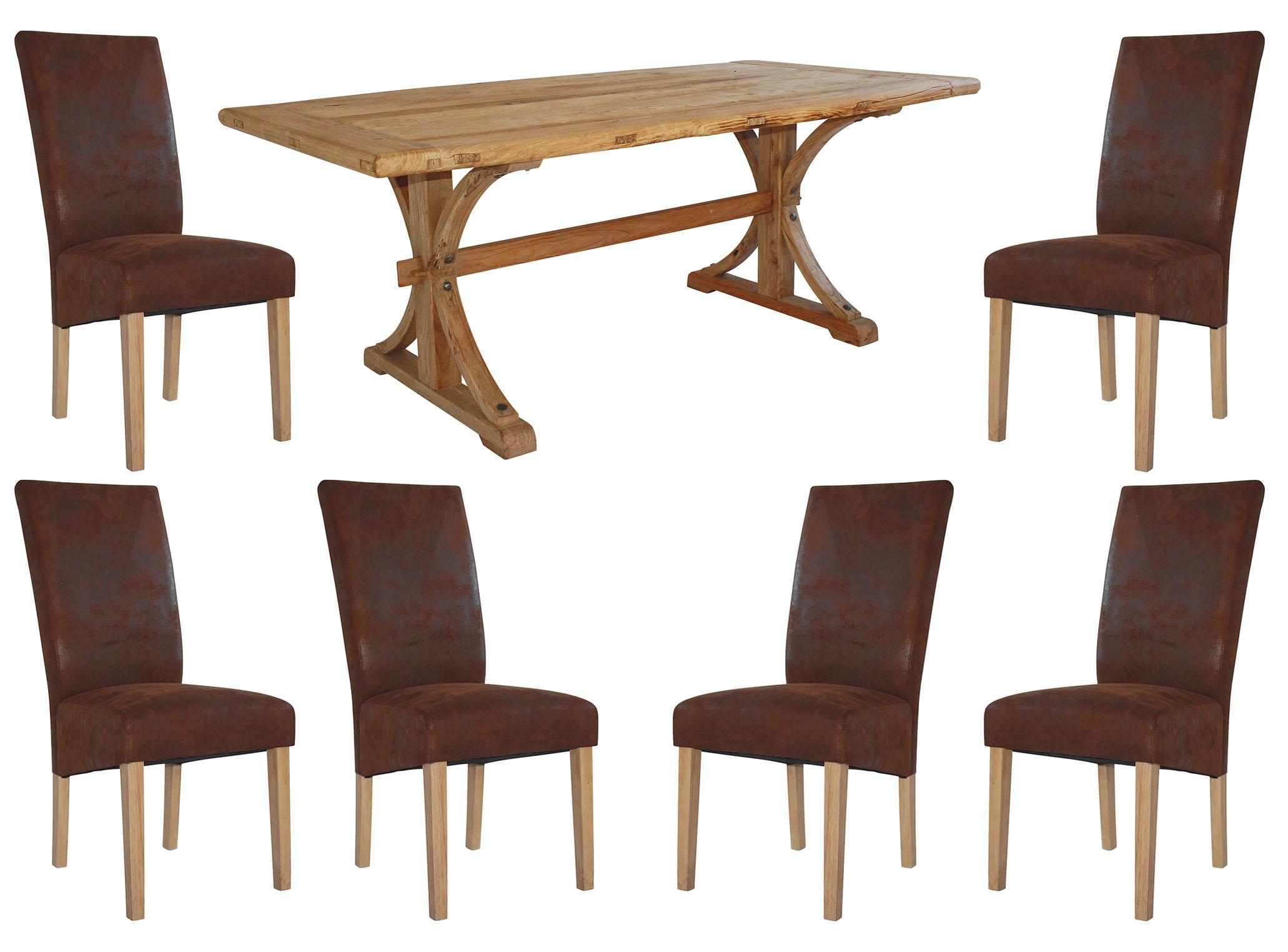Provence Matgrupp inkl. 6 st Provence stolar