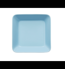 Teema tallerken 16x16 cm lyseblå