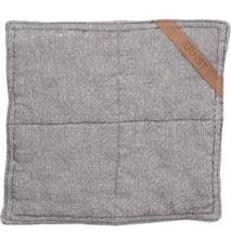 Grydelappe ERNST 25x25 cm grå