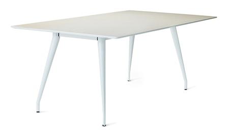 Bild av Skandiform Colt rektangulär björk matbord – vita ben