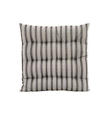 Sittdyna Stripe by stripe 35x35 cm - Svart/Grå
