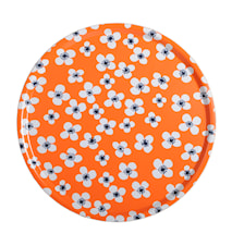 Belle Amie Bricka Orange Rund Ø 45 cm