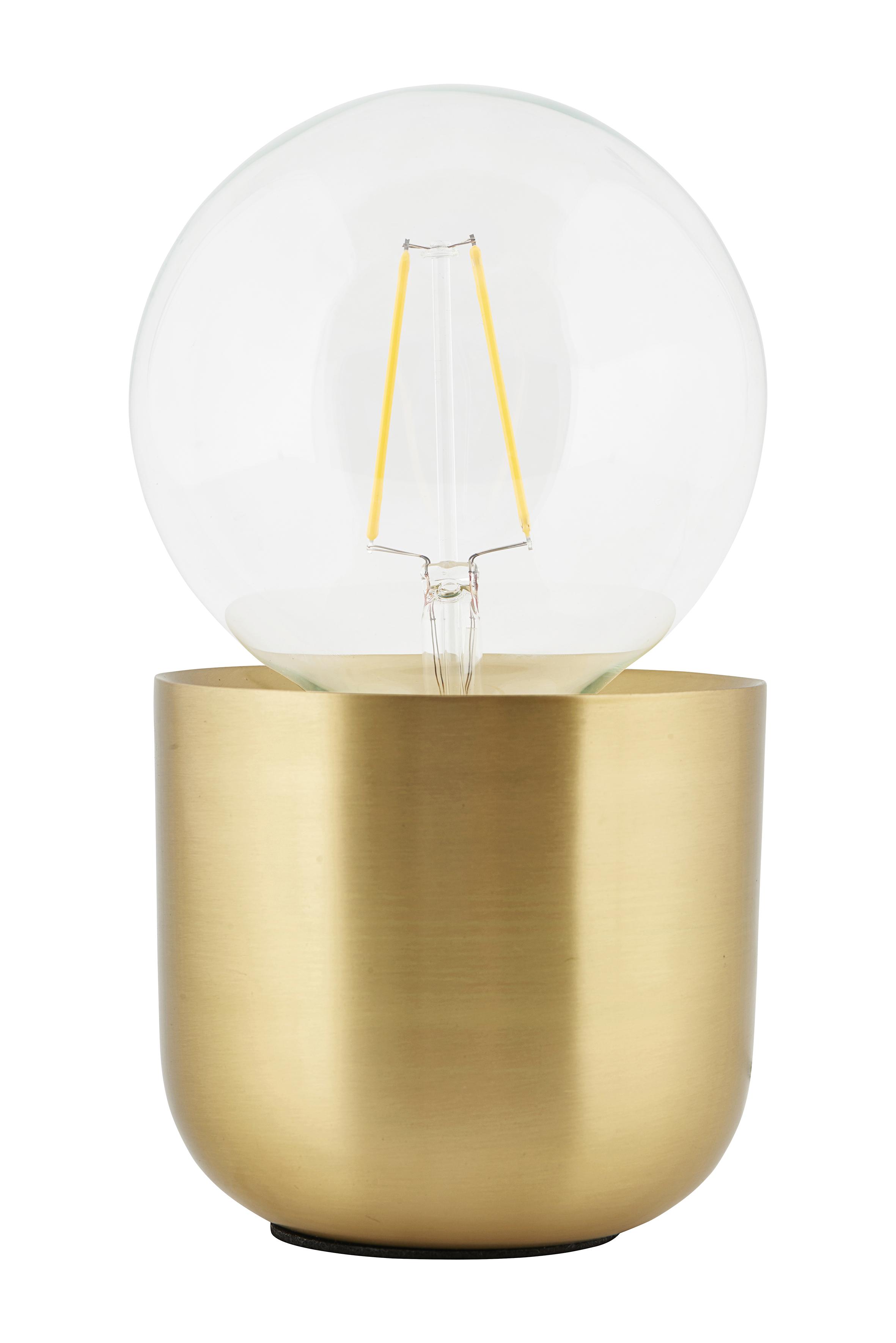 Gleam Bordslampa Mässing H:10,5 cm