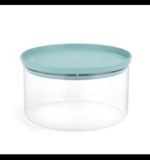 Oppbevaringskrukke Glass/Mint Lokk