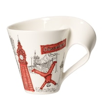 Cities of the World Mug Mugg 0,35l-Dusseldorf