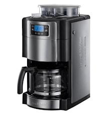 Grind & Brew Kaffebryggare med Kvarn och Timer, 10 koppar