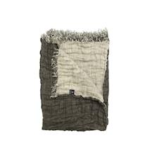 Hannelin Pläd bark/natur 130x170
