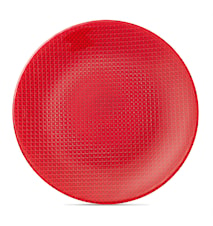 Colour Concept Buffet Tallrik red
