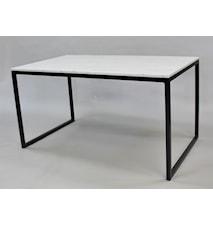 Rektangulär marmor matbord halvkub
