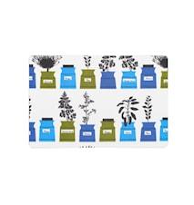 Persons kryddskåp Smörgåsbricka Blå 2-pack