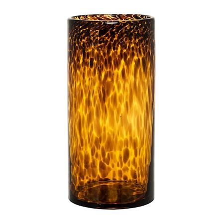 Bild av Bloomingville Vas Glas Brun 12x25 cm