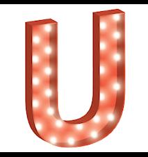 Cirkuslampan Stor - U