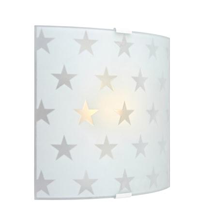 Bild av Markslöjd Star LED Vägglampa Frostad