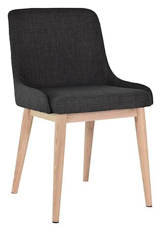 Edgar stol 2-pack Mörkgrå