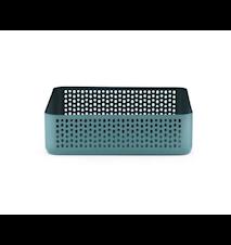 Nic Nac Oppbevaring Blå/Grønn 22,5x22,5x6 cm