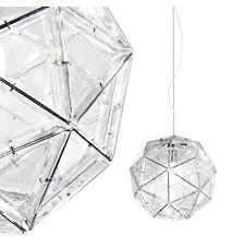 Poliedro transparent taklampa