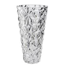 Vas konisk kristallglas höjd 25,5 cm