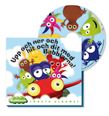 Babblarna Første Album, CD
