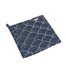 Grytlapp japanese blå/grå