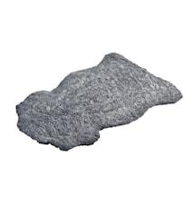 Aussie Korthårig fårskinnsfäll ca. 60x100 cm - Graphite