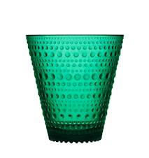 Kastehelmi drikkeglass 30 cl smaragd 2-pakk