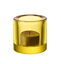 Kivi lysestage 60 mm citrongul pakning