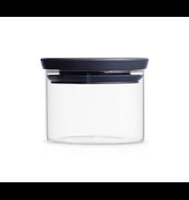 Glasskrukke 0,3 L Glass/Grått lokk