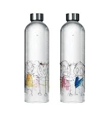 Vattenkaraff I Glas 1 Liter