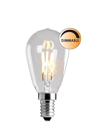Ljuskälla LED Soft Filament Dimbar Klar Uniterm E14