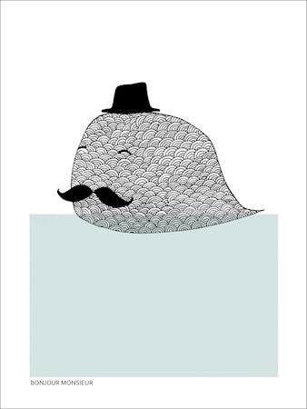 Bonjour monsieur poster - 30x40