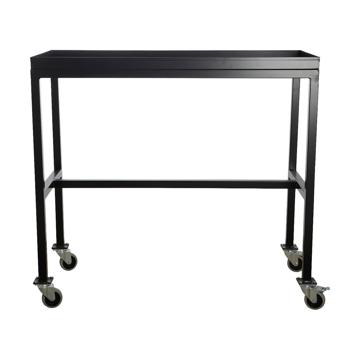 Rullbord Svart 100x45x90 cm