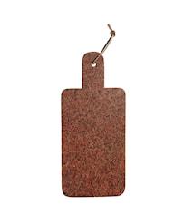 Skærebræt 17,5x40 cm - Rød