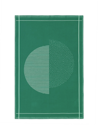 Normann Copenhagen Illusion Keittiöpyyhe Vihreä